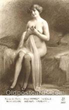 nud001066 - Artist Henry Perrault Nude Nudes Postcard Postcards