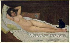 nud001140 - Artist S. Glocklich, Nude Postcard Postcards