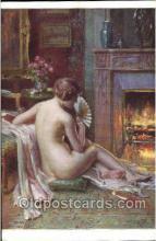 nud001156 - Artist D. Enjolras, Nude Postcard Postcards