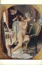 nud001157 - Artist C. Maliquet, Nude Postcard Postcards
