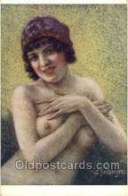 nud001166 - Artist Seeberger, Nude Postcard Postcards