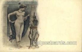 nud001175 - Artist Silvestre, Nude Postcard Postcards