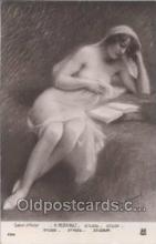 nud006008 - Artist H. Perrault Nude, Nudes Postcard Postcards