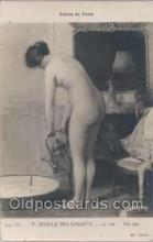 nud006012 - Salons de Paris P. Sezille Des Essarts - Le Tub. The Tub, Postcard Postcards