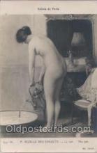 nud006012 - Salons de Paris P. Sezille Des Essarts - Le Tub. The Tub, Postcard Postcards