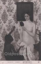 nud006033 - Artist M. Genlis Nude, Nudes Postcard Postcards