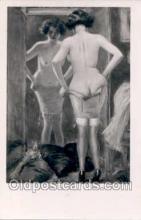 nud006040 - Artist Albert Guillaume Nude, Nudes Postcard Postcards