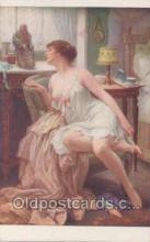 nud007004 - Artist Jules Scalbert Nude, Nudes Postcard Postcards