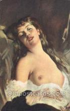 nud007020 - Artist Charles Chaplin Nude Nudes Postcard Postcards