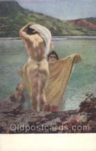 nud007022 - Artist Albert Paul Besnard Nude Nudes Postcard Postcards