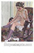 nud007032 - Artist Cucuel Nude Nudes Postcard Postcards