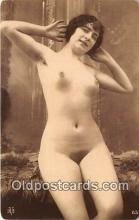 nud007073 - reproduction of vintage photos Postcard Post Card
