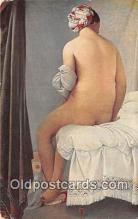 nud007095 - J Ingres  Postcard Post Card