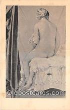 nud007097 - The Bather Fogg Art Museum, Harvard University Postcard Post Card