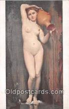 nud007122 - JAD Ingres  Postcard Post Card