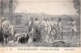 nud007140 - Puvis De Chavannes Musee D'Amiens Postcard Post Card