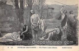 nud007141 - Puvis De Chavannes, Pro Patrica Ludus Musee D'Amiens Postcard Post Card