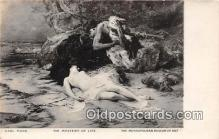 nud007144 - Mystery of Life Carl Marr, Metropolitan Museum of Art Postcard Post Card