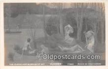 nud007148 - Cleveland Museum of Art, Summer Puvis De Chavannes Postcard Post Card