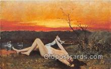 nud007151 - Awaking of Spring  Postcard Post Card