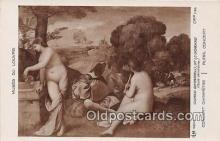 nud007157 - Musee Du Louvre Concert Champetre, Rural Concert Postcard Post Card