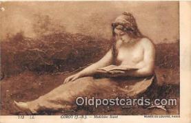 Corot, Madeleine Lisant