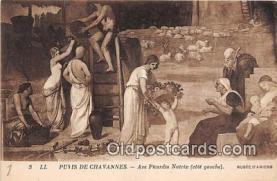 nud007166 - Puvis De Chavannes, Ave Picardia Nutrix Musee D'Amiens Postcard Post Card