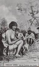 nud007185 - Woman, Waunana Tribe Panama Postcard Post Card