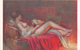 nud008001 - Nude Postcard