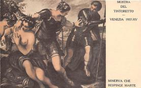 nud008003 - Minerva Che Respinge Marte Nude Postcard