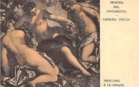 nud008004 - Mercurio E Le Grazie Nude Postcard