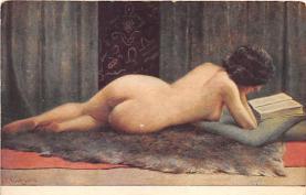 nud008012 - Nude Postcard