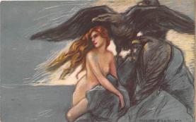 nud008017 - Nude Postcard
