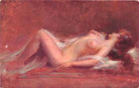 nud008082 - Nude Postcard
