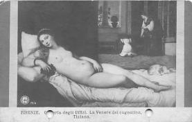 nud008101 - Tiziano Nude Postcard
