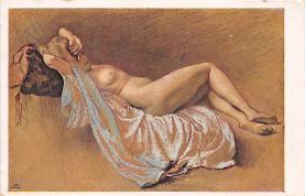 nud008105 - Nude Postcard