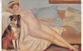 nud008106 - Nude Postcard