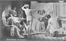 nud008123 - Nude Postcard