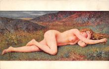 nud008136 - After the Fault Nude Postcard