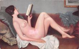 nud008145 - Nude Postcard