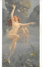 nud008199 - Shadows Nude Postcard