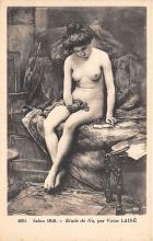 nud008268 - Par Victor Laine Nude Postcard