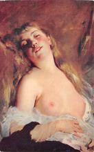 nud008295 - Artist Charles Chaplin Nude Postcard