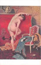 nud008301 - The Sandal Nude Postcard