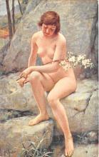 nud008307 - Primavera Nude Postcard