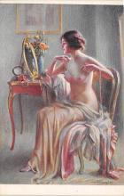 nud008326 - Pearls Nude Postcard