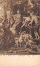 nud008347 - Musee Du Louvre Nude Postcard