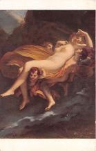 nud008349 - The rape of Psyche by Zephyrus Nude Postcard