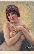 nud008355 - Voluptuous Nude Postcard