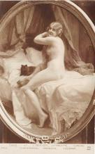 nud008364 - Salon, Combing Nude Postcard